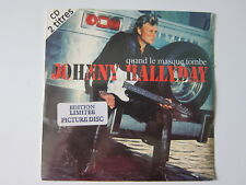 cd single scellé johnny hallyday quand le masque tombe ed limitée picture disc