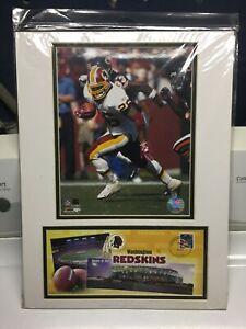 """USPS Washington Redskins 2006-07 Team Composite 12"""" x 16"""" - Photo/Clinton Portis"""