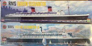 Airfix 1/600 Queen Elizabeth combo