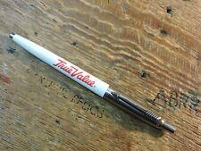 old Vintage 1993 WhiteTrue Value Stainless Steel PARKER Jotter Ballpoint Pen USA