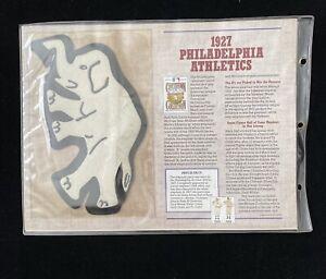 Willabee & Ward MLB Cooperstown Collection 1927 Philadelphia Athletics