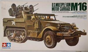 35081 Tamiya 1/35 US Multiple Gun Motor Carriage M16 Model Kit