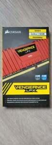 Corsair Vengeance LPX DDR4 16GB (2 x 8GB) 2666MHz RAM Memory - Red