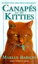 Canapés for the Kitties by Marian Babson  Free Shipping