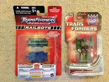 Transformers Universe: MEGATRON + SWINDLE Railbots Micromaster. Both unopened!