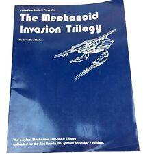 MECHANOID INVASION TRILOGY RPG 1st Ed Palladium Megaverse Roleplaying Collectors