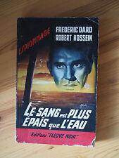 Rare EO DARD SAN-ANTONIO Espionnage 330 Le Sang est plus Epais que l'Eau Hossein
