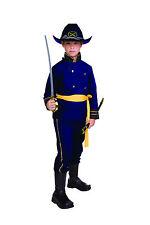 UNION OFFICER CHILD COSTUME CIVIL WAR SOLDIER KIDS BOY UNIFORM BLUE GENERAL ARMY