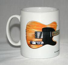 Guitar Mug. Bruce Springsteen's 1950's Fender Esquire illustration.
