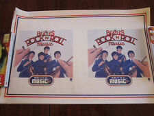 BEATLES Rock n roll Music Poster 13x20