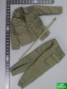 1:6 Scale DID A80144 WWII US Ranger Sniper Jackson - HBT Uniform w/ Belt Set
