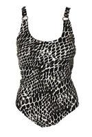 Calvin Klein Women's Starburst Printed One-Piece Swimsuit $128 Size 6 # UB5 30 N