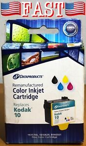 Dataproducts DPC5766 Kodak Remanufactured Color Inkjet Cartridge Replaces 10