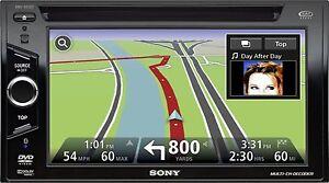 Sony XNV-660BT 6.1 Inch Car DVD Player - TomTom Nav Unit Not Included