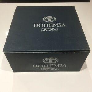 Vintage Bohemia Hand Cut Lead Crystal Bowl - Perfect