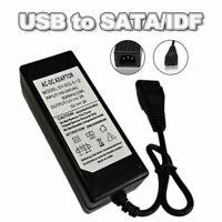 12V / 5V 2A USB auf IDE / SATA Netzteil Adapter Festplatte HDD CD-ROM AC DC