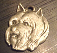New I love My Silky Terrier Dog Pewter Pendent for a Key Chain