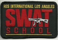Policía de Los Ángeles-los angeles: * SWAT School * Police Patch SEK placa de policia Patch