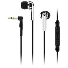 Sennheiser CX 2.00i In-Ear Headphones with Apple Controls and mic - Black   6JCV