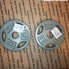 """🔥 CAP 2.5 LB Weight Plates 1"""" Inch Set of 2 (5 LB Total) FREE SHIPPING!"""