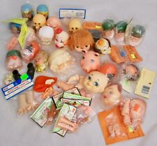 Lot of 40-50 Darice/Fibre Craft/Misc Doll Heads and Hands Vintage