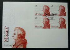 Portugal 250th Anniversary Birth Of Mozart 2006 Musician 音�家 莫扎特 (Fdc) *rare