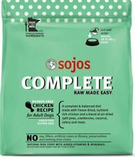 NEW 7 lb. Sojos Freeze Dried Raw Chicken Complete Dog Food