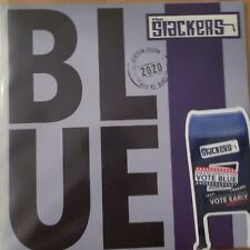 "The SLACKERS brand new BLUE 7"" record 45rpm ROYAL BLUE VINYL"
