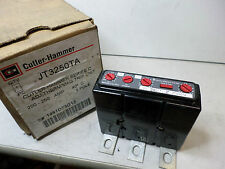 CUTLER HAMMER EATON -- SERIES C THERMAL MAGNETIC TRIP 200-250amps JT3250TA Qty