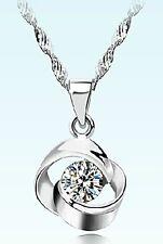 008 Damen Halskette mit Anhänger Love 925 Silber Pl  NEU