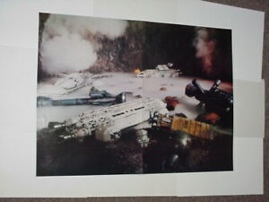 Space: 1999 Movie Poster Ship Graveyard