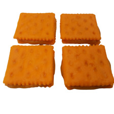 Cheese Crackers With Peanut Butter Fake Food Prop L@k.