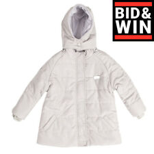 Rubacuori Bebe Quilted Jacket Size 24M Padded Detachable Hood Made in Italy
