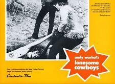 Andy Warhol's Lonesome Cowboys ORIG AH-Foto Dallesandro