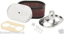 K&n Air Filter Kit Personalizado Para 36/40/44 Weber IDF/ida Carburadores