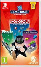 Hasbro Game Night mit Monopoly Risiko Trivial Pursuit - Nintendo Switch - NEU
