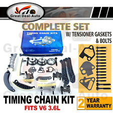 Timing Chain Kit for GM Buick Cadillac CTS SRX STS Saab for Suzuki 3.6L V6 DOHC