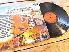 MUSIQUE DE FILMS DE GUERRE GEOFF LOVE LP 33T VINYLE EX COVER EX 1975