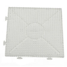 4pcs ABC Clear 145x145mm Square Large Pegboards Board for Hama Fuse Perler Y1H0