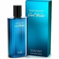 Davidoff Cool Water Profumo Uomo Edt 125ml Natural Spray + Campioncini OMAGGIO