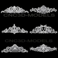 3D Model STL for CNC Router Engraver Carving Artcam Aspire Collection Decor b502