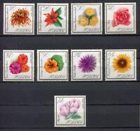 35733) Poland 1966 MNH Flowers 9v Scott #1430/38