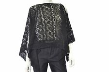 Collection Xiix Crochet Scarf One Size Black