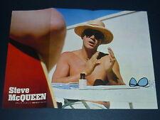 STEVE McQUEEN Shirtless 1964 Vintage Japan Pinup Poster 10x14 #EE/T