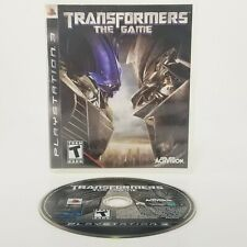 Transformers The Game PS3 Playstation 3 TESTED Free Shipping