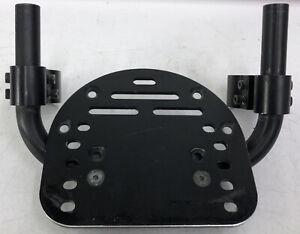 """6"""" Foot Plate Quickie Wheelchair Footrest Q7 5R 7R GT QRi Zippie Zone Oval Mount"""