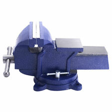 NEW ARRIVAL! 8 INCH Multipurpose Bench Vise Clamp with Swivel Locking Base