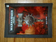 Lot 24 6th? Edition 40K Rules OOP 2008 mini Softback Good Condition