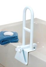 Bathtub Saftey Bar Locks to Side of Tub Bath Handle Grab Mount Support Assist