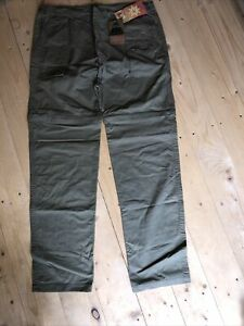 Highlander - Sage -Africa Zip Off Trousers Shorts W42